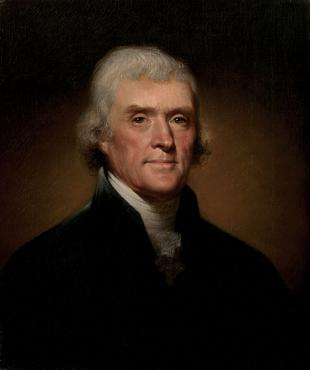 Picture of quotation author Thomas Jefferson