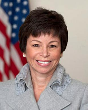Picture of quotation author Valerie Jarrett