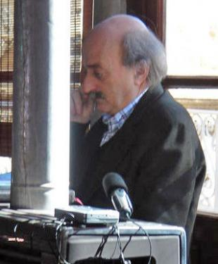 Picture of quotation author Walid Jumblatt