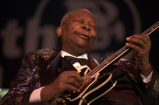 Picture of quotation author B. B. King
