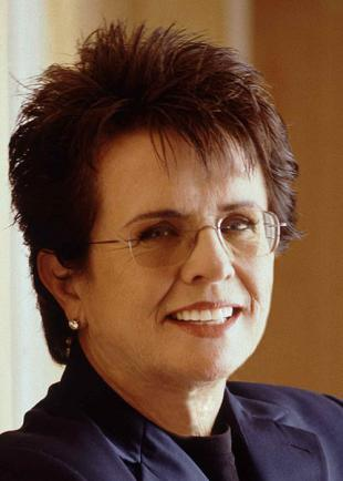 Picture of quotation author Billie Jean King