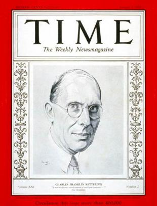Picture of quotation author Charles Kettering