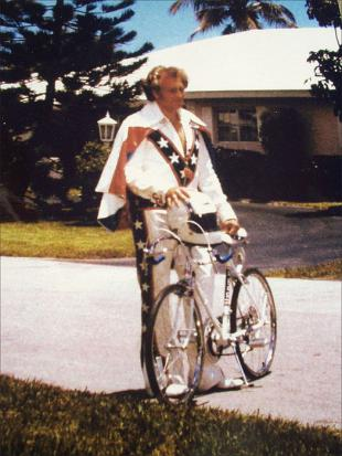 Picture of quotation author Evel Knievel