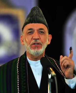 Picture of quotation author Hamid Karzai