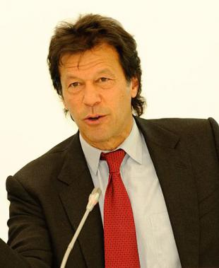 Picture of quotation author Imran Khan
