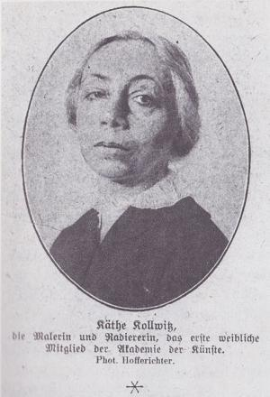 Picture of quotation author Kathe Kollwitz