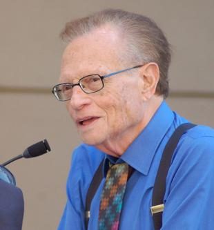 Picture of quotation author Larry King