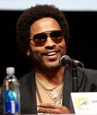 Picture of quotation author Lenny Kravitz