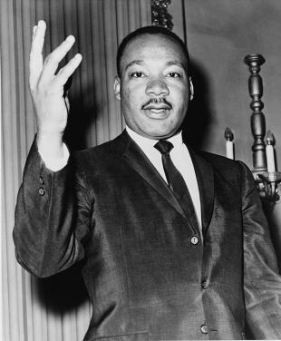 Picture of quotation author Martin Luther King, Jr.