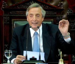 Picture of quotation author Nestor Kirchner