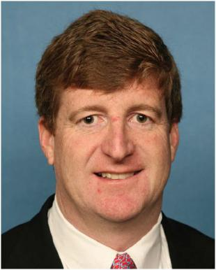 Picture of quotation author Patrick J. Kennedy