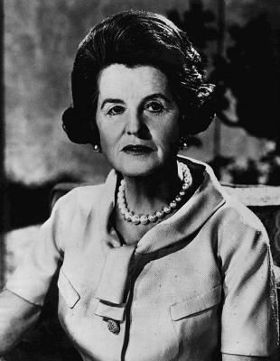 Picture of quotation author Rose Kennedy