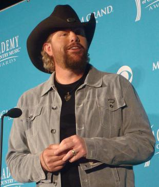 Picture of quotation author Toby Keith