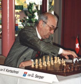 Picture of quotation author Viktor Korchnoi