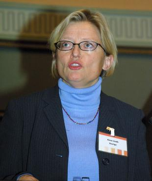 Picture of quotation author Anna Lindh