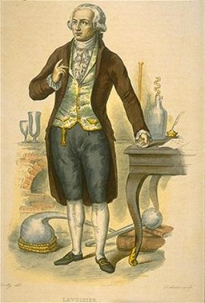 Picture of quotation author Antoine Lavoisier