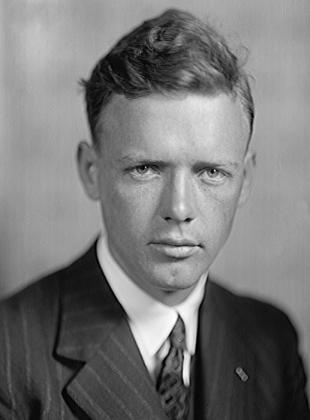 Picture of quotation author Charles Lindbergh