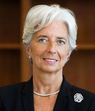 Picture of quotation author Christine Lagarde