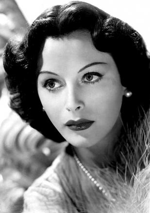 Picture of quotation author Hedy Lamarr