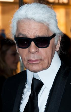 Picture of quotation author Karl Lagerfeld