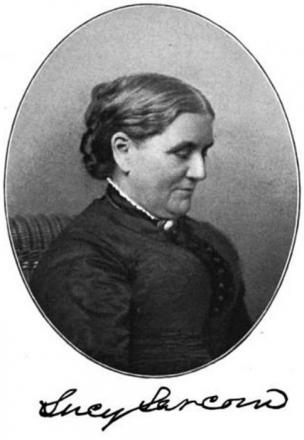 Picture of quotation author Lucy Larcom