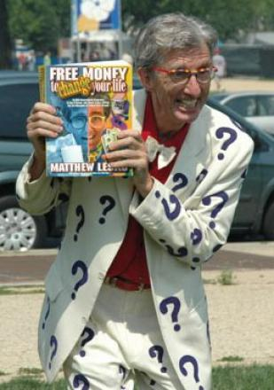 Picture of quotation author Matthew Lesko