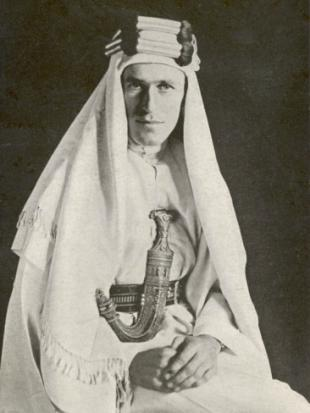 Picture of quotation author T. E. Lawrence