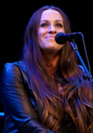 Picture of quotation author Alanis Morissette
