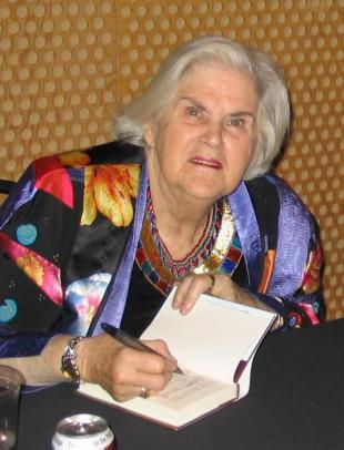 Picture of quotation author Anne McCaffrey