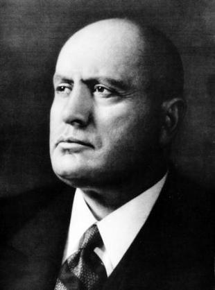 Picture of quotation author Benito Mussolini
