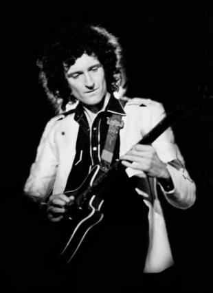 Picture of quotation author Brian May