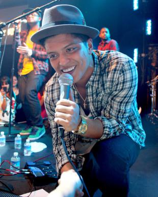 Picture of quotation author Bruno Mars