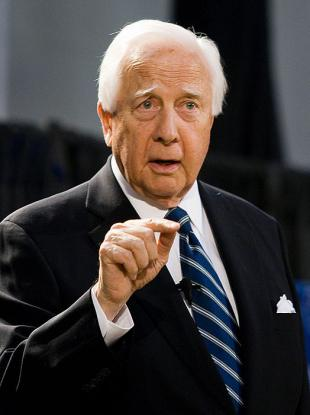 Picture of quotation author David McCullough