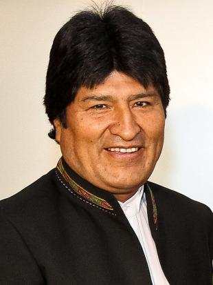 Picture of quotation author Evo Morales