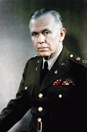 Picture of quotation author George C. Marshall