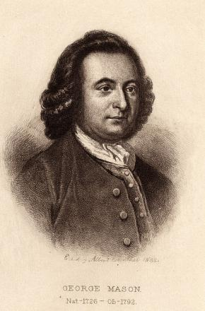 Picture of quotation author George Mason