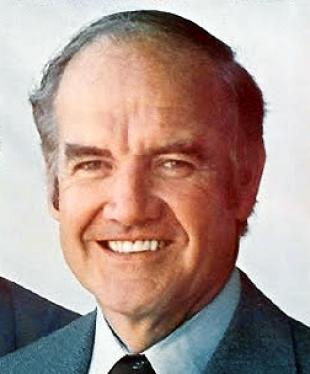 Picture of quotation author George McGovern
