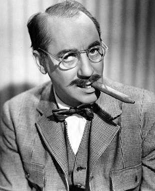 Picture of quotation author Groucho Marx