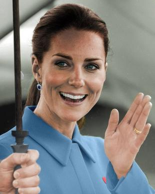 Picture of quotation author Kate Middleton