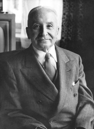 Picture of quotation author Ludwig von Mises