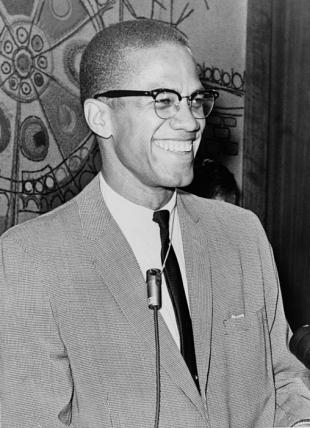 Picture of quotation author Malcolm X