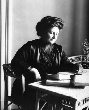 Picture of quotation author Maria Montessori