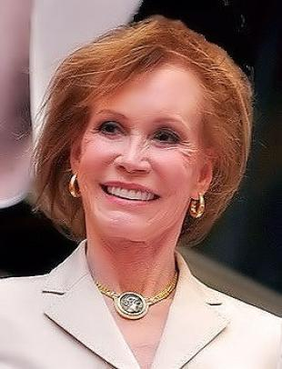 Picture of quotation author Mary Tyler Moore
