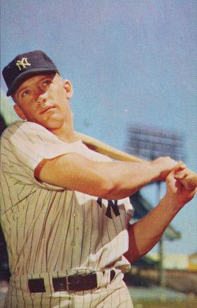 Picture of quotation author Mickey Mantle
