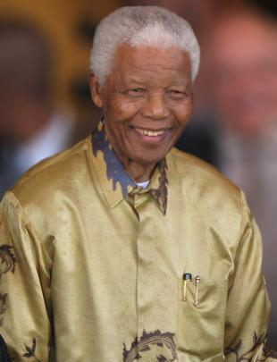 Picture of quotation author Nelson Mandela