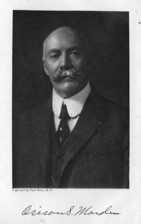 Picture of quotation author Orison Swett Marden