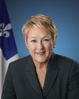 Picture of quotation author Pauline Marois