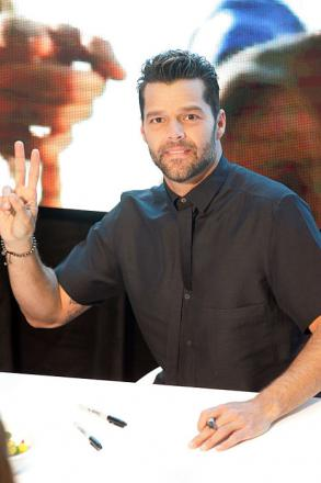 Picture of quotation author Ricky Martin