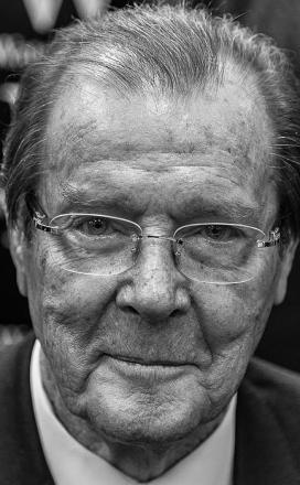 Picture of quotation author Roger Moore