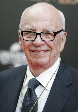 Picture of quotation author Rupert Murdoch